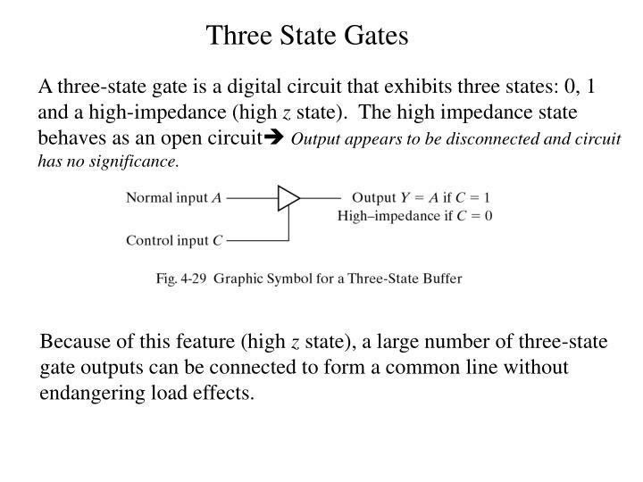 Three State Gates