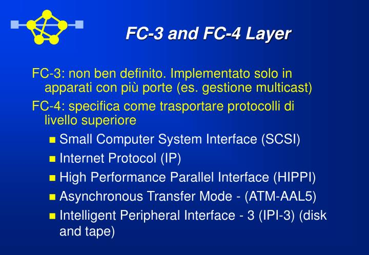 FC-3 and FC-4 Layer