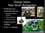design ideas new sloan roofgarden