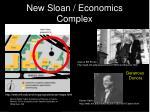 new sloan economics complex