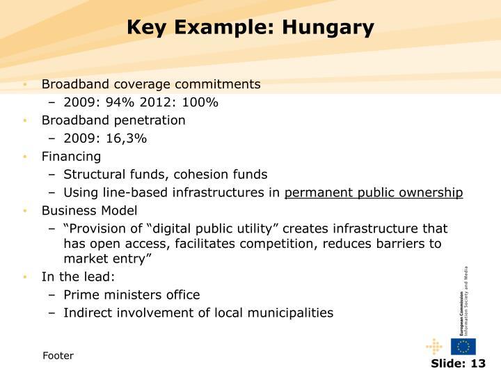 Key Example: Hungary