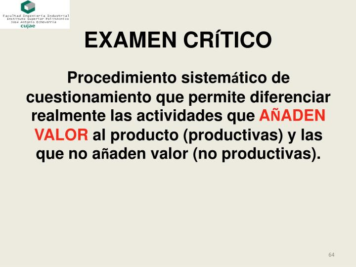 EXAMEN CR