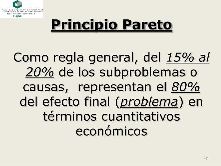 Principio Pareto