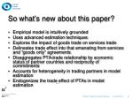 so what s new about this paper