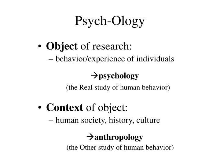Psych-Ology