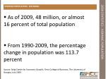 2009 statistics hispanic population