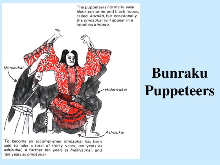 Bunraku Puppeteers