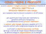 conclusioni e proposte1