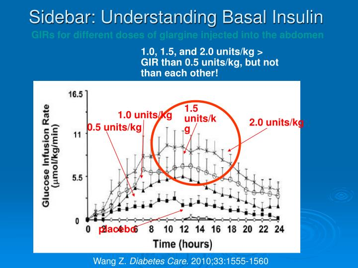 Sidebar: Understanding Basal Insulin