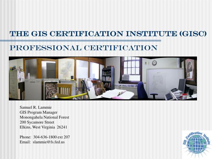 professional certification n.