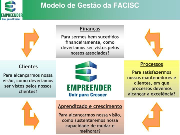 Modelo de Gestão da FACISC