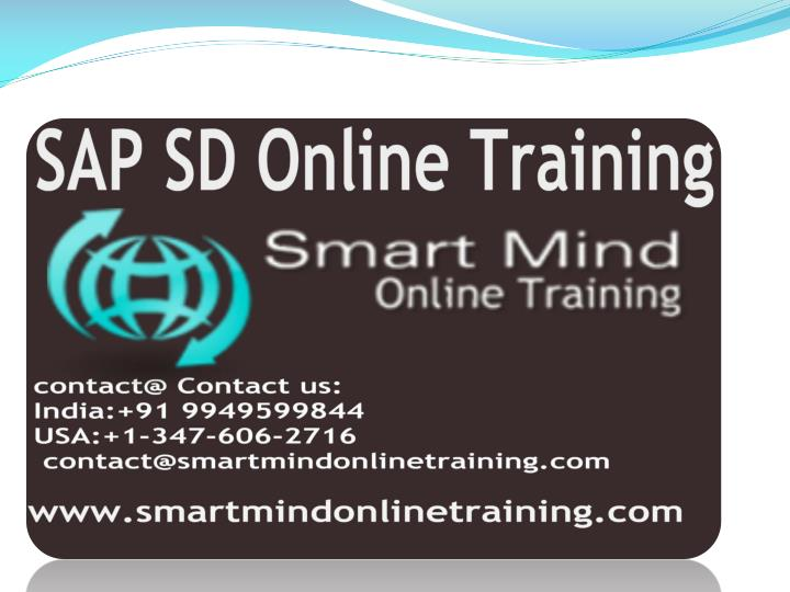 Sap sd online training online sap sd training in usa uk