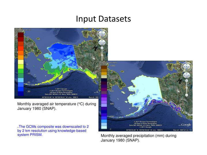 Input Datasets
