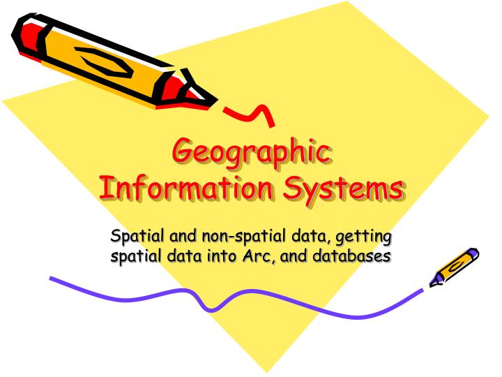 a description of geographic information systems