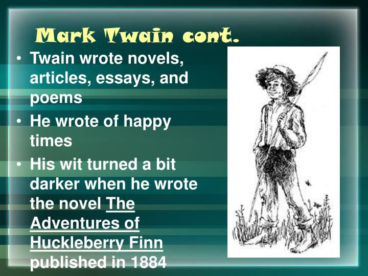 a literary analysis of mark twains feelings towards southern aristocracy This lesson will provide a brief summary and analysis of mark twain's 'a ghost story,' with particular attention paid to its inventive commentary on the cardiff giant hoax of 1869.