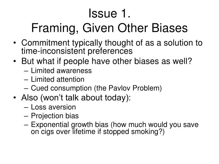 Issue 1.