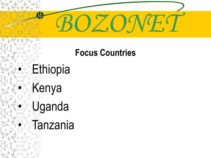 BOZONET