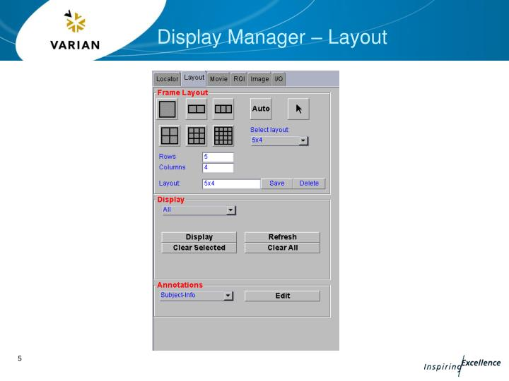 Weston display Manager