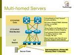 multi homed servers