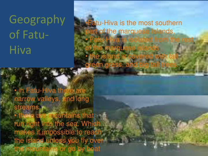 Geography of Fatu-Hiva