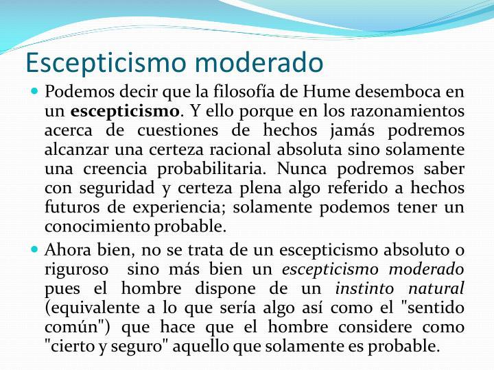 Escepticismo moderado