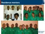 residence mentors