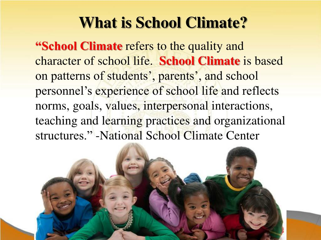 PPT - School Climate and the CCRPI PowerPoint Presentation