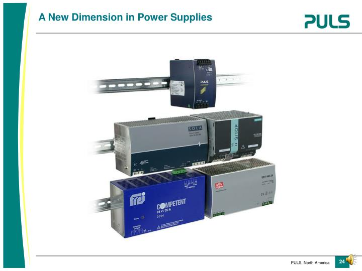 A New Dimension in Power Supplies