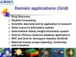 domain applications grid
