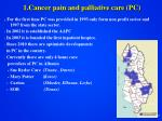 1 cancer pain and palliative care pc