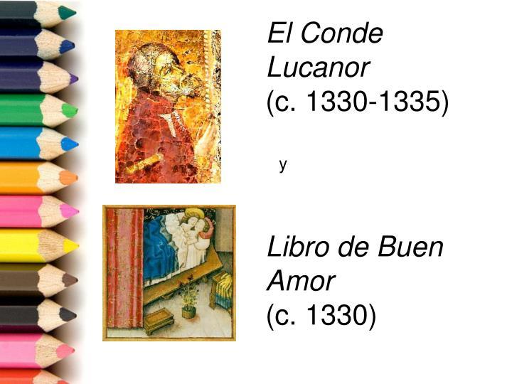 El conde lucanor c 1330 1335