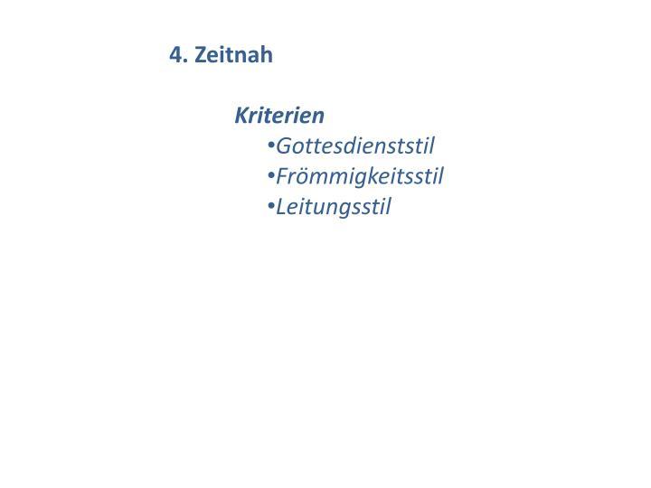 4. Zeitnah