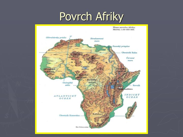 Ppt Povrch Afriky Powerpoint Presentation Free Download Id