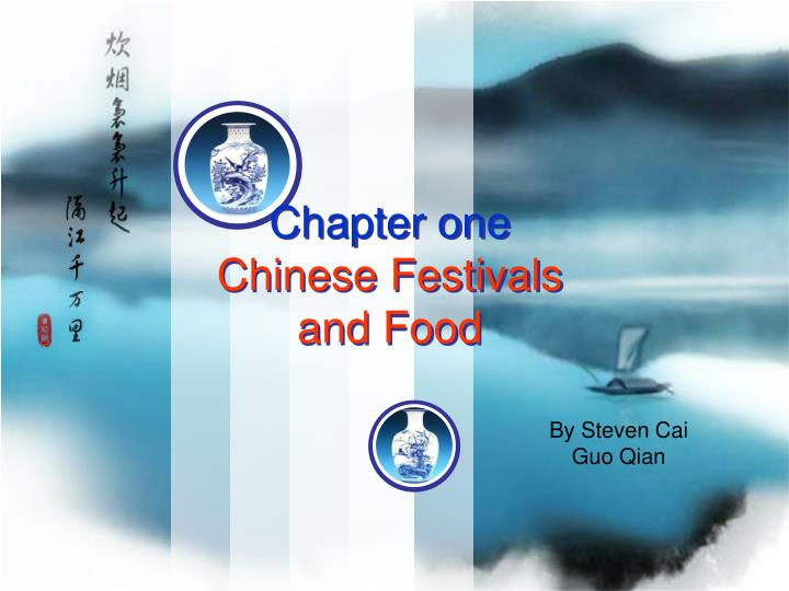 chapter one chinese festivals and food n.