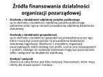 r d a finansowania dzia alno ci organizacji pozarz dowej15
