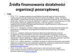 r d a finansowania dzia alno ci organizacji pozarz dowej20