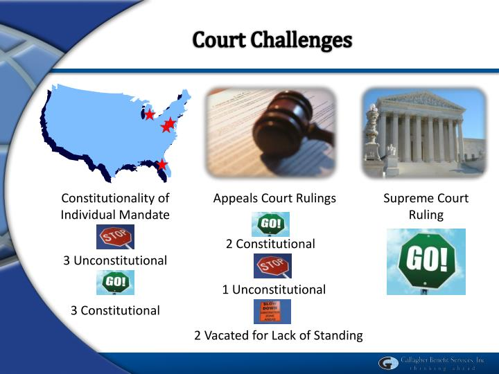 Court Challenges