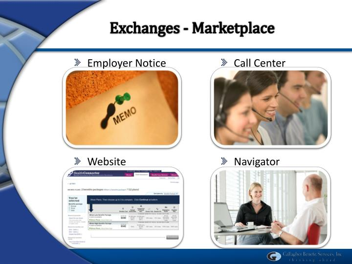 Exchanges - Marketplace