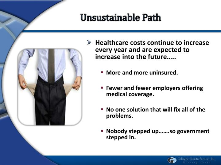 Unsustainable Path