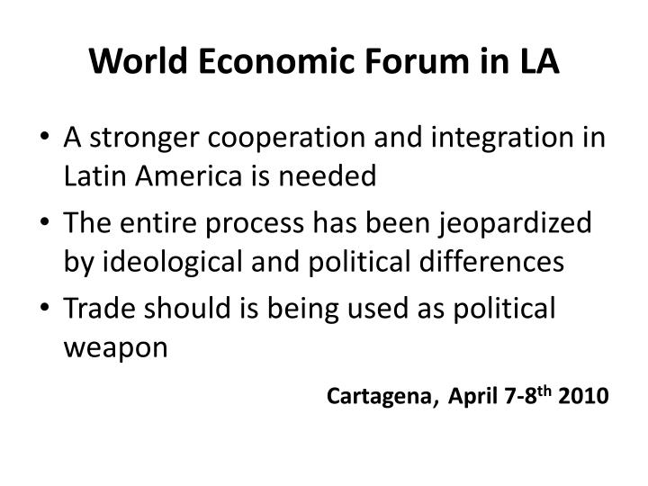 economic integration in latam a reality Learn about working at center of studies on economic integration and international trade join linkedin today for free see who you know at center of studies on economic integration and international trade.