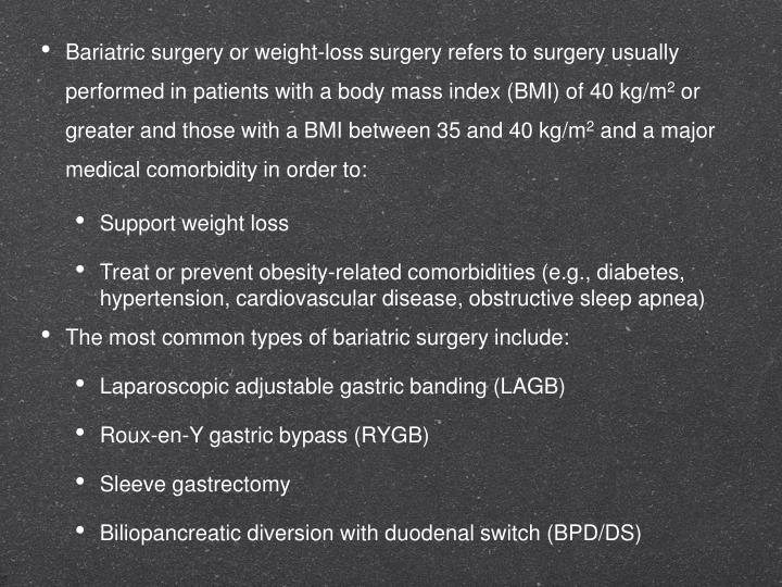 Ppt Effect Of Metabolic Surgery On Diabetes And Hypertension