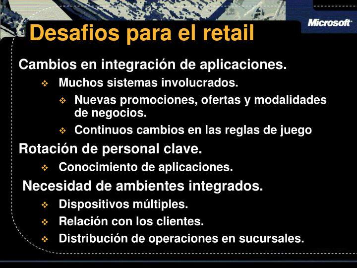 Desafios para el retail