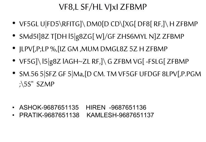 VF8,L SF/HL VJxI ZFBMP