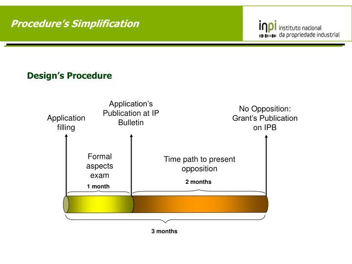 Procedure's Simplification