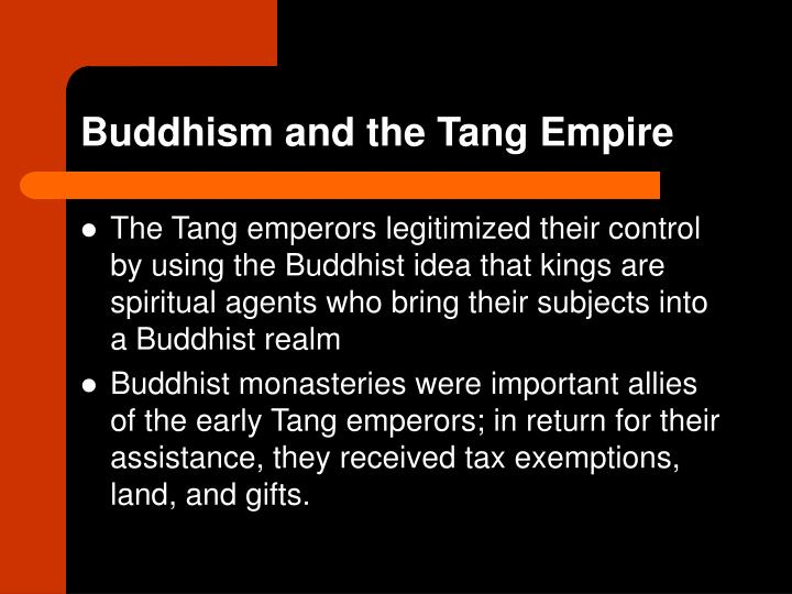 Buddhism and the tang empire