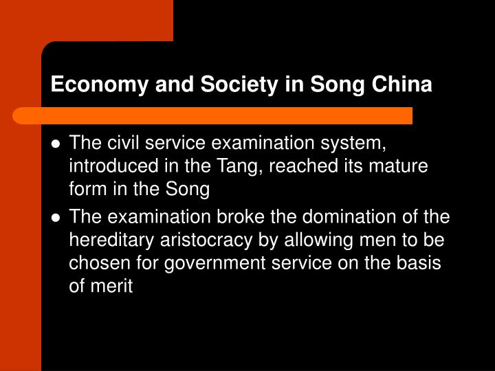 Economy and Society in Song China