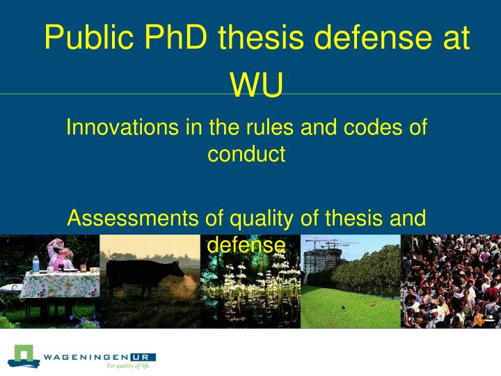 thesis defense presentation youtube Rather, the thesis defense is designed so that faculty members can ask questions and make sure that students actually understand their field and during a defense, a student will be asked questions by members of the thesis committee questions are usually open-ended and require that the student.