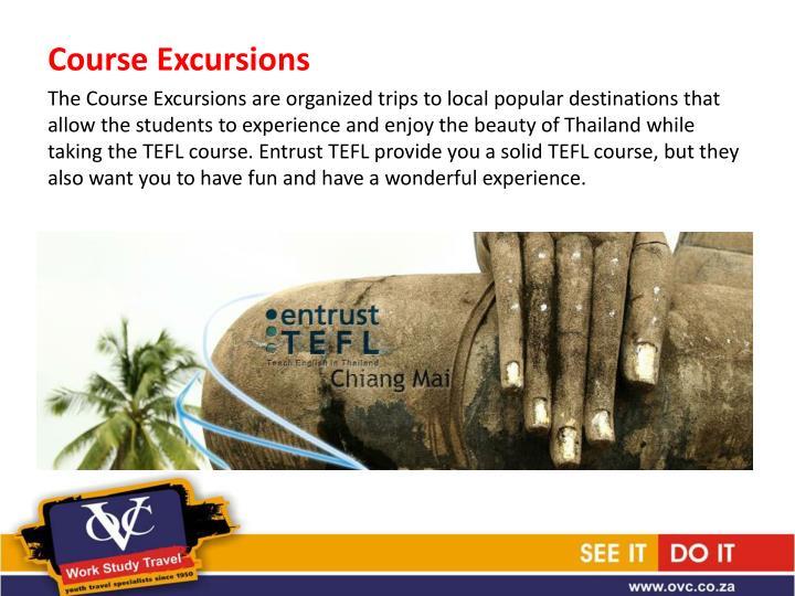 Course Excursions