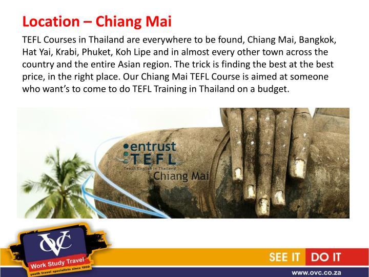 Location – Chiang Mai