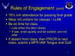 rules of engagement cont
